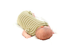 Two months old baby boy Royalty Free Stock Photo