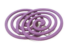 Two Mosquito coil Royalty Free Stock Photography