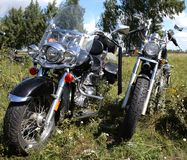 Two motorcycles Royalty Free Stock Image