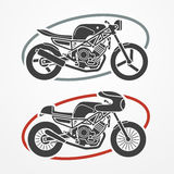 Two motorcycles Royalty Free Stock Photos