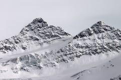 Two mountain Stock Photo