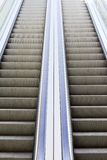Two moving stairs Stock Photography