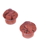 Two muffin Royalty Free Stock Images