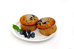 Two Muffins Stock Photos