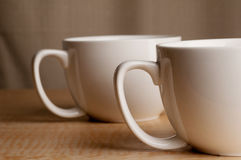 Two Mugs Royalty Free Stock Photography