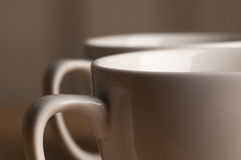 Two Mugs Royalty Free Stock Image