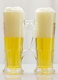 Two mugs of beer. Stock Photography