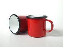 Two mugs Stock Photography