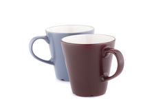 Two mugs Royalty Free Stock Photos