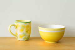 Two mugs Royalty Free Stock Photos