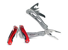 Two multi plier tools. Of different sizes Stock Image