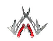Two multi tools Stock Photo