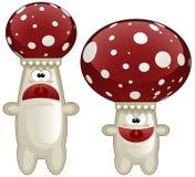 Two mushrooms Royalty Free Stock Photo