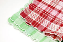 Two napkins Royalty Free Stock Images