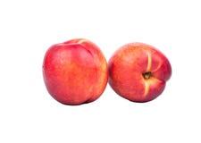 Two nectarine fruit Stock Image
