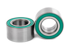 Two new bearing to the vehicle isolate Royalty Free Stock Photo