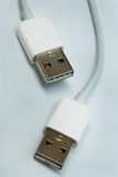 Two new plug usb Stock Image