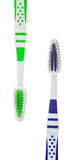 Two new toothbrushes Stock Images
