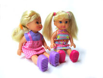 Two nice dolls Stock Photography