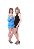 Two nice girls Royalty Free Stock Photography
