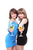 Two nice girls Stock Photography