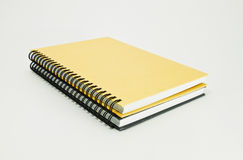 Two note book Royalty Free Stock Photography