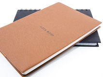 Two notebook Royalty Free Stock Photos