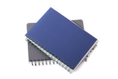 Two notebooks. Stock Image