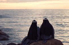 Two nuns Royalty Free Stock Image