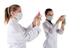 Two nurses Stock Images