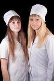 Two nurses Royalty Free Stock Photo