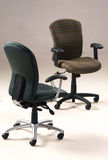 Two office chairs Royalty Free Stock Photography