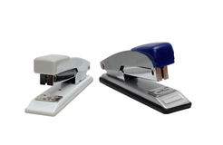 Two office stapler Royalty Free Stock Photography