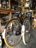 Two old bicycles Royalty Free Stock Photography