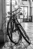 Two old bikes Stock Photo