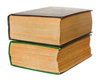 Two old books Royalty Free Stock Photos