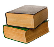 Two old books Stock Images