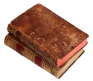 Two old books Royalty Free Stock Images