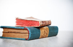 Two old  books Stock Image