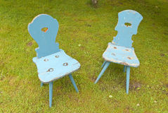 Two old Chairs Royalty Free Stock Photography