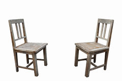 Two old chairs Stock Photos