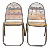 Two old chairs Stock Image