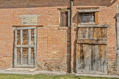 Two Old Doors Stock Image