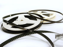 Two old film reels Royalty Free Stock Photos