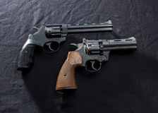 Two old  guns Royalty Free Stock Photography