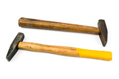 Two old hammers Stock Photography