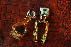 Two old perfume Stock Photo