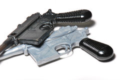Two Old Pistols Royalty Free Stock Photo
