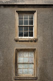 Two old sash windows Stock Images