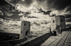 Two old tower - HDR Royalty Free Stock Photos